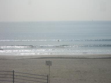 今日の由比ガ浜